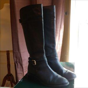 Ralph Lauren Leather Riding Boot